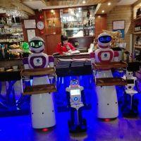 送餐机器人 餐厅机器人服务员
