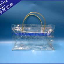 手提拉链pvc洗涤礼品袋塑料软胶购物袋防水保温化妆收纳包单色印