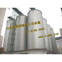 螺旋钢板仓施工工程出料系统,粉煤灰钢板库工艺诺德设计