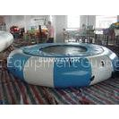 OEM inflatable aqua park toys With jumping trampoline For Blow up Water Sports