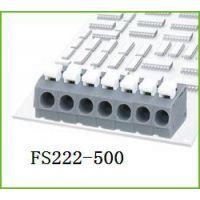 代替万可电子 具S型笼式弹簧接线单元的PCB 接线端子