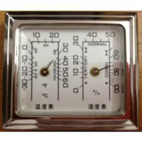 供应双金属温度计,指针式湿度计,机械式温湿度计表 工艺温湿度表