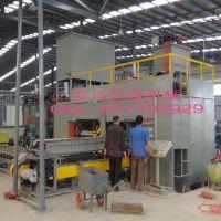青岛国森机械制造利用杨木单板下脚料生产高档高密度重组木设备