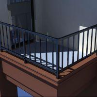 厂家批发定制 锌钢护栏 住宅小区围栏 围墙栅栏