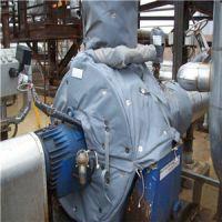 江苏美润牌可脱卸式管道保温套耐高低温节约电耗30%