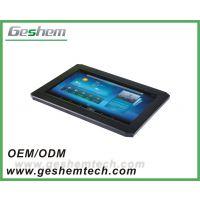 德航智能10寸工业电容触摸一体机安卓系统 嵌入式安装