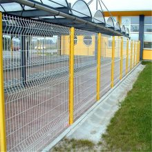 车间护栏网 车间隔离网厂家 黄色防护网
