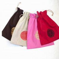 中国农历新年福袋香包定制  可以加logo绣花的束口包