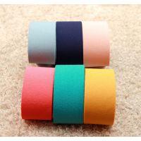 【38MM亚麻布条】6色新款 丝带类发饰手工DIY材料批发 2014新款