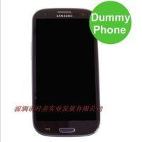 三星I9260 GALAXY Premier手机模型 i9260原装样板机 黑色黑屏