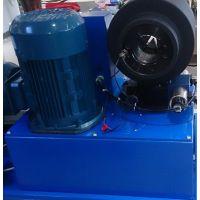 液压油管接头压管机制造厂家-潍坊五洲wz-250型扣压机