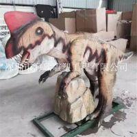 恐龙模型雕塑侏罗纪大型玻璃钢仿真霸王龙雕塑史前动物装饰模型4