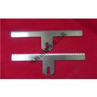 包装机齿刀,高速钢包装机切刀,包装机齿口切刀,非标可定做