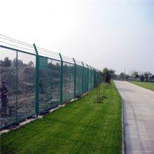 河道围栏网 水库安全防护网 钢板网护栏网