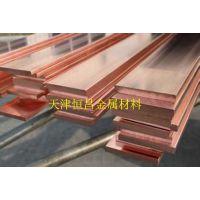 紫铜条价格 南通市镀锡紫铜排厂家 TMY铜母排100-10 接地铜排铜排材