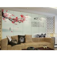 人造玉石背景墙3d打印机/浮雕立体3d背景墙制作工艺