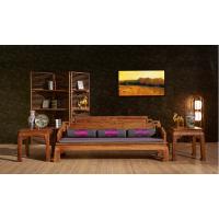 刺猬紫檀新中式沙发苏梨价格图片 名琢世家