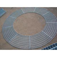 汉川食品加工厂热镀锌平台钢格栅板/踏步板型号参数