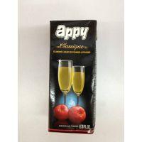 印度进口 芭乐谷经典苹果汁饮料  200ml*32盒/箱