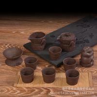 紫砂陶茶具套装 宜兴特色手抓壶 的促销礼品 厂家直销 特价