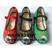 杭州贝来多工艺鞋厂绣花鞋厂家老北京布鞋汉舞鞋民族绣花鞋布鞋6
