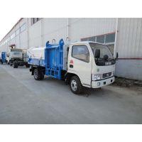 东风多利卡挂桶式垃圾车|垃圾车价格-垃圾车厂家直销