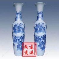 景德镇建源陶瓷大花瓶厂家 酒店装饰大花瓶图片