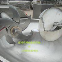 厂家直销ZB-125型变频斩拌机_变频斩拌机价格_诸城博威_千叶豆腐斩拌机