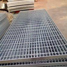 旺来住宅小区排水沟盖板 钢格栅板 镀锌钢格板