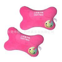 毛绒玩具生产厂家大运会红色抱枕超柔面料手感舒适顺滑企业吉祥物礼品定做