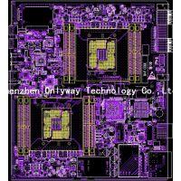 Intel 服务器PCB设计,双CPU设计,pcb layout 外包,线路板设计,pcb画板外包