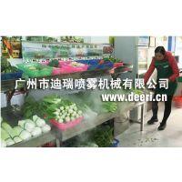 菜市场喷雾降温系统,农贸市场降温系统,喷雾降温设备