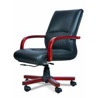 北京黎明LM-9102型德国进口优质半青皮办公椅厂家直销