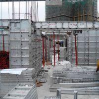 新型模板 盛科建筑铝合金模板 免钉可拆装循环使用 一次性成型 可定制或租赁