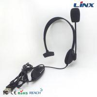 供应LX-USB06头戴式网吧游戏耳机 USB带麦耳机