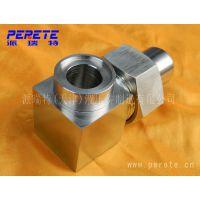 天津格供应304不锈钢焊接式直角管接头 平面密封式焊接弯头
