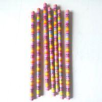 顺手创意铅笔 顺意文具新款套膜铅笔 12支彩盒装 厂家批发直销 可定制