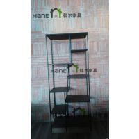 供应咖啡厅LOFT工业书柜/咖啡厅书架/上海韩尔家具厂供应