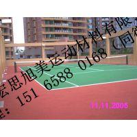 潍坊环保硅pu排球场生产厂家 环保硅pu排球场厂家价格 环保硅pu排球场施工价格