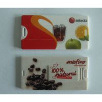 厂家大量生产卡片u盘 名片式u盘金属u盘 2g 广告促销U盘