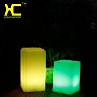 欧式装饰灯创意卧室装饰灯遥控充电咖啡屋小夜灯LED发光装饰台灯