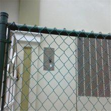 旺来体育场围栏网图片 体育护栏网厂家 pvc包塑勾花网