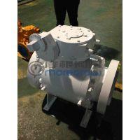 摩根Q347N-1500LB大口径高压锻钢球阀