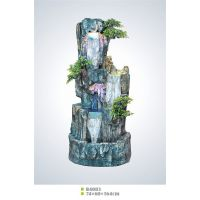 B4003流水喷泉假山盆景庭院花园摆饰树脂工艺品厂家批发直销