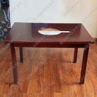 带电磁炉火锅桌促销 中式餐厅火锅台 钳入式火锅桌子 批发定做