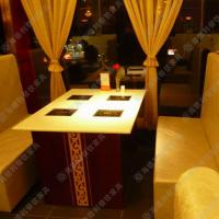 精品热卖 火锅桌价格 高档酒店火锅桌 环保电磁炉火锅餐台