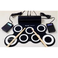 iWord诺艾 手卷电子鼓便携式USB演示练习架子鼓DTX电鼓游戏