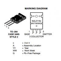 供应ON安森美MJL21193G硅功率音频晶体管