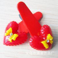 小兔BB夹供应 儿童小发夹 刘海夹边夹 外贸出口发饰头饰定做 厂家