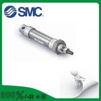 不锈钢微型气缸气动元件 小型迷你气缸CDJ2B10*100 质量三包